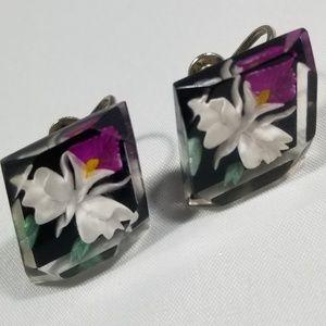 Vintage custom jewelry earrings